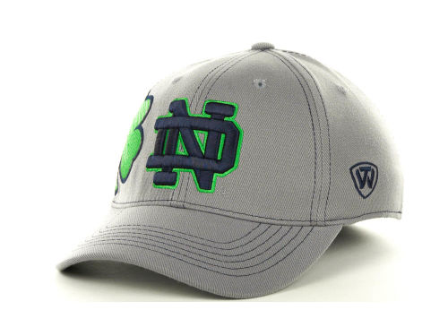 Notre Dame Fighting Irish Top of the World NCAA Sketched Gray Cap Hats