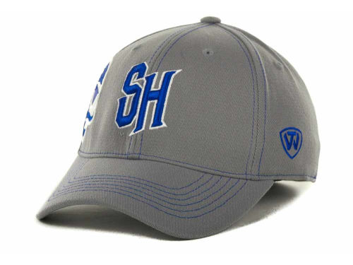 Seton Hall Pirates Top of the World NCAA Sketched Gray Cap Hats