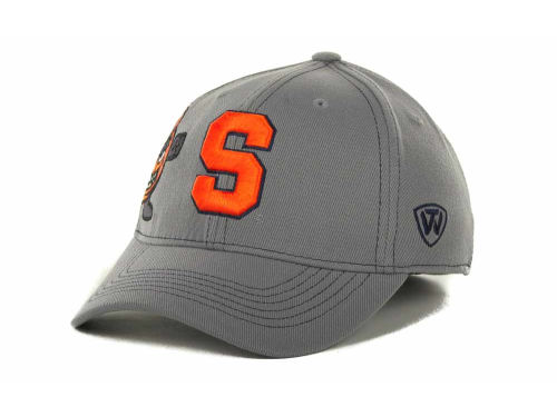 Syracuse Orange Top of the World NCAA Sketched Gray Cap Hats
