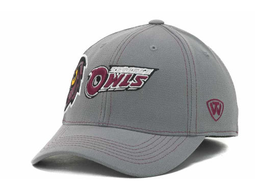 Temple Owls Top of the World NCAA Sketched Gray Cap Hats