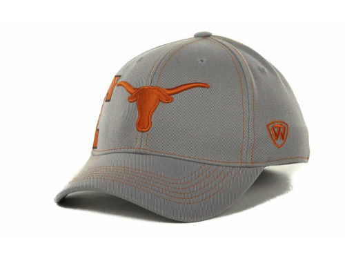 Texas Longhorns Top of the World NCAA Sketched Gray Cap Hats