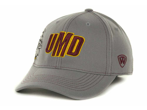 Minnesota Duluth Bulldogs Top of the World NCAA Sketched Gray Cap Hats