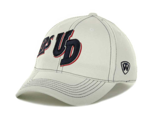 Dayton Flyers Top of the World NCAA Sketched White Cap Hats