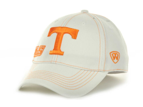 Tennessee Volunteers Top of the World NCAA Sketched White Cap Hats
