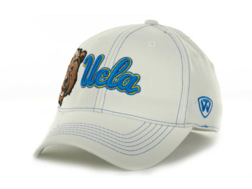 UCLA Bruins Top of the World NCAA Sketched White Cap Hats