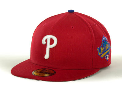 Philadelphia Phillies MLB Retro World Series Patch 59FIFTY Hats