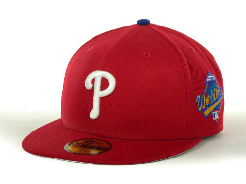 Philadelphia Phillies New Era MLB Retro World Series Patch 59FIFTY Hats
