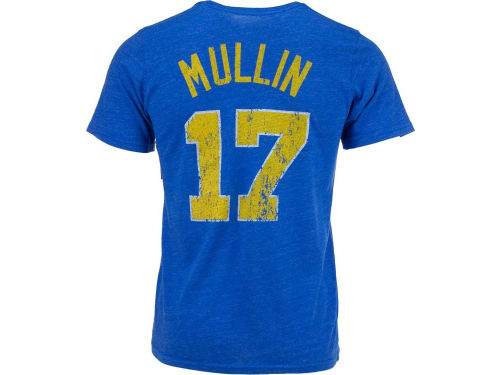 Golden State Warriors Chris Mullin NBA Hardwood Classics Triblend Player T-Shirt