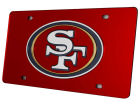 San Francisco 49ers Rico Industries Acrylic Laser Tag Auto Accessories