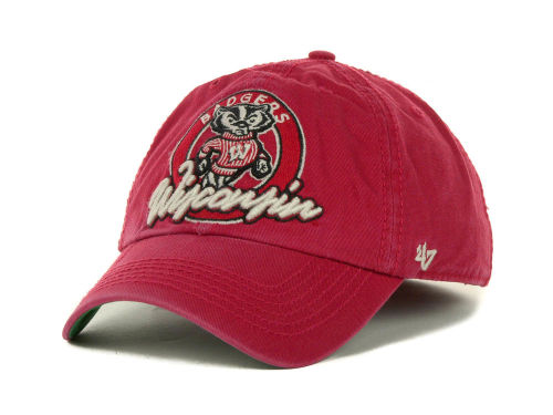 Wisconsin Badgers '47 Brand NCAA Lake Powell Franchise Cap Hats