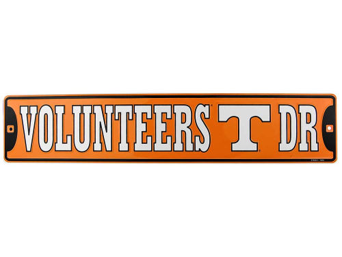 Tennessee Volunteers Team Street Sign