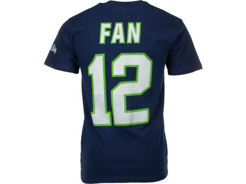 Seattle Seahawks Fan #12 VF Licensed Sports Group NFL Men's Eligible Receiver T-Shirt