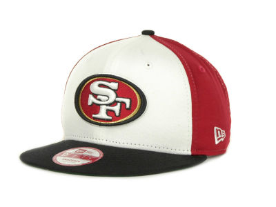 San Francisco 49ers NFL White Block 9FIFTY Cap Hats