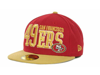 San Francisco 49ers NFL Chop Block 59FIFTY Cap Hats