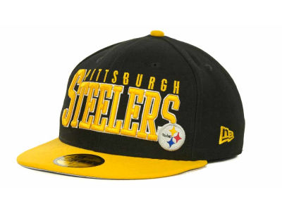 Pittsburgh Steelers NFL Chop Block 59FIFTY Cap Hats