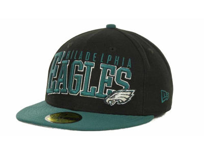 Philadelphia Eagles NFL Chop Block 59FIFTY Cap Hats