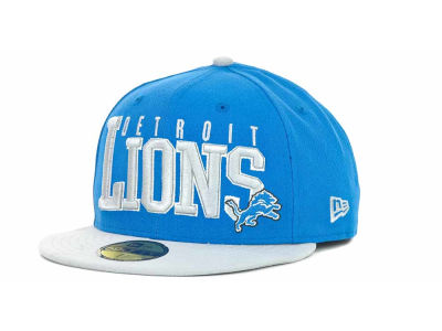 Detroit Lions NFL Chop Block 59FIFTY Cap Hats