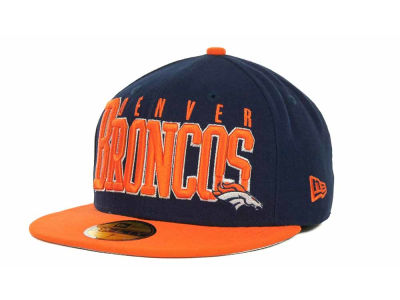 Denver Broncos NFL Chop Block 59FIFTY Cap Hats
