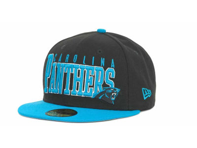 Carolina Panthers NFL Chop Block 59FIFTY Cap Hats