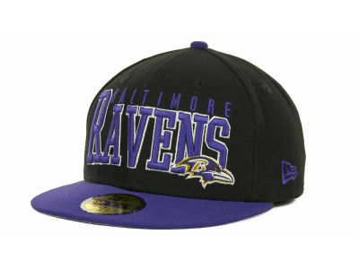 Baltimore Ravens NFL Chop Block 59FIFTY Cap Hats