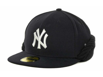 New York Yankees MLB Knit Flipdown 59FIFTY Cap Hats