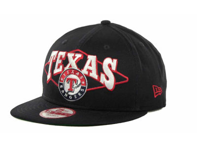 Texas Rangers MLB Geo Block Snap 9FIFTY Cap Hats