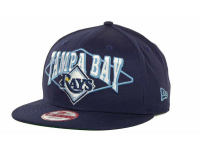 Tampa Bay Rays MLB Geo Block Snap 9FIFTY Cap Hats