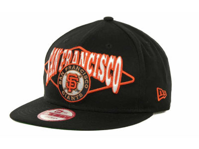 San Francisco Giants MLB Geo Block Snap 9FIFTY Cap Hats