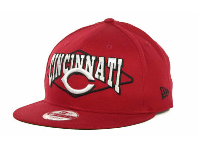 Cincinnati Reds MLB Geo Block Snap 9FIFTY Cap Hats