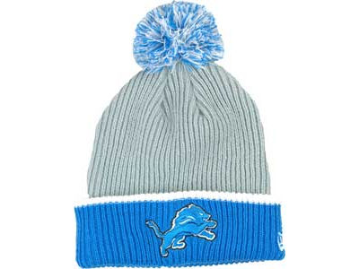 Detroit Lions NFL Fireside Knit Hats