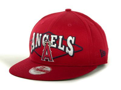 Los Angeles Angels of Anaheim MLB Geo Block Snap 9FIFTY Cap Hats