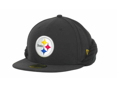 Pittsburgh Steelers NFL Knit Flipdown 59FIFTY Cap Hats