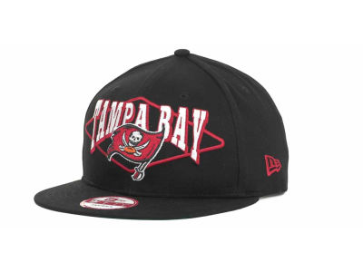 Tampa Bay Buccaneers NFL Geo Block Snapback 9FIFTY Cap Hats