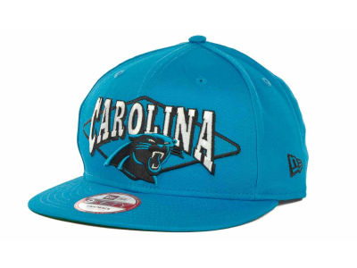 Carolina Panthers NFL Geo Block Snapback 9FIFTY Cap Hats