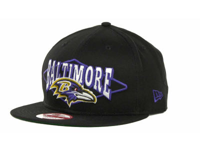 Baltimore Ravens NFL Geo Block Snapback 9FIFTY Cap Hats