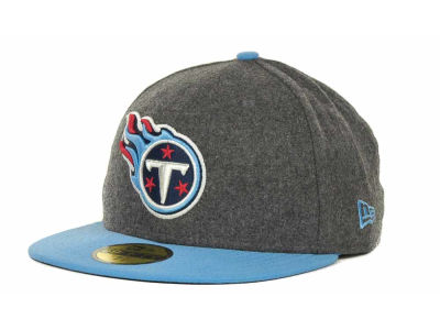 Tennessee Titans NFL Melton Basic 59FIFTY Cap Hats