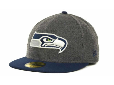 Seattle Seahawks NFL Melton Basic 59FIFTY Cap Hats
