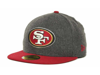 San Francisco 49ers NFL Melton Basic 59FIFTY Cap Hats