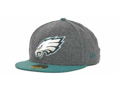 Philadelphia Eagles NFL Melton Basic 59FIFTY Cap Hats