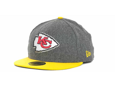 Kansas City Chiefs NFL Melton Basic 59FIFTY Cap Hats