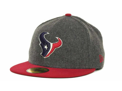 Houston Texans NFL Melton Basic 59FIFTY Cap Hats