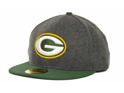 Green Bay Packers NFL Melton Basic 59FIFTY Cap Hats
