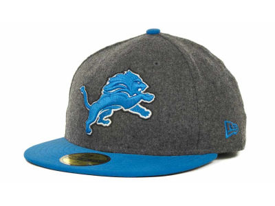 Detroit Lions NFL Melton Basic 59FIFTY Cap Hats