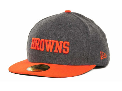 Cleveland Browns NFL Melton Basic 59FIFTY Cap Hats