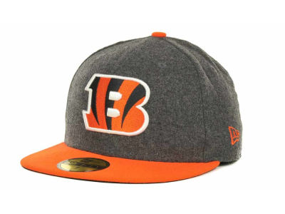 Cincinnati Bengals NFL Melton Basic 59FIFTY Cap Hats