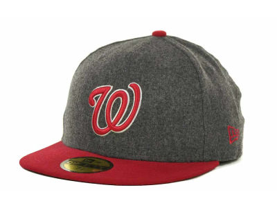 Washington Nationals MLB Melton Basic 59FIFTY Cap Hats