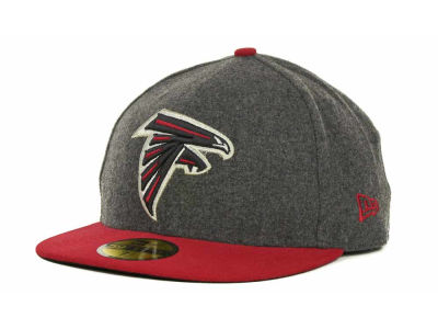 Atlanta Falcons NFL Melton Basic 59FIFTY Cap Hats