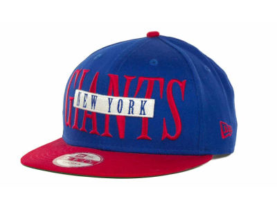 New York Giants Offsides Snapback 9FIFTY Cap Hats