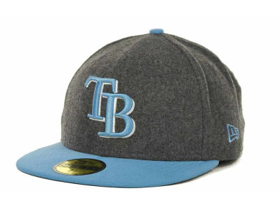Tampa Bay Rays MLB Melton Basic 59FIFTY Cap Hats