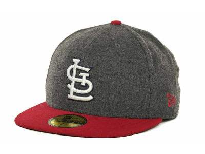 St. Louis Cardinals MLB Melton Basic 59FIFTY Cap Hats